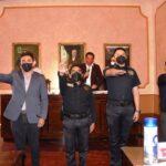 Instalan las comisiones de Honor y Justicia de la Policía Municipal, Salud, Desarrollo Municipal y Conservación del patrimonio del centro histórico de Tlaxcala