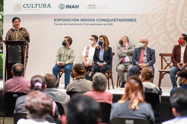 """La exposición """"Indios conquistadores"""" reivindica el papel de los pueblos originarios como vencedores"""