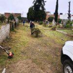 30  toneladas de basura han sido recolectadas en el panteón de Chiautempan: » Tamayo Cubillas».